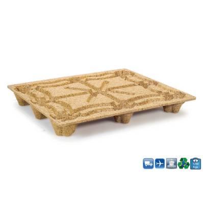 Palet de madera prensada 1200x1000 Resistancia 1250kg