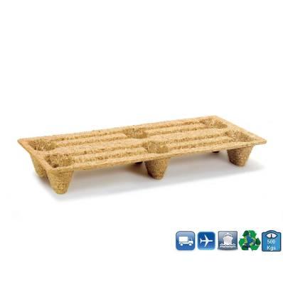1/3 Pallet in legno Pressato 800x400