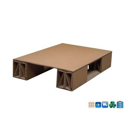 1/4 KartonPaletten Display und Lufttransport