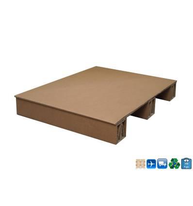 Cardboard Pallet 600 X 800 X 115 - loads 300kg