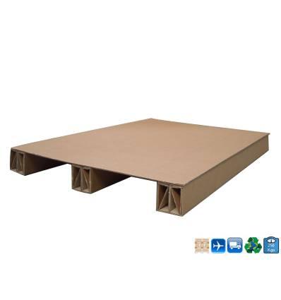 Palet de cartón 1200x800 Carga de 250kg