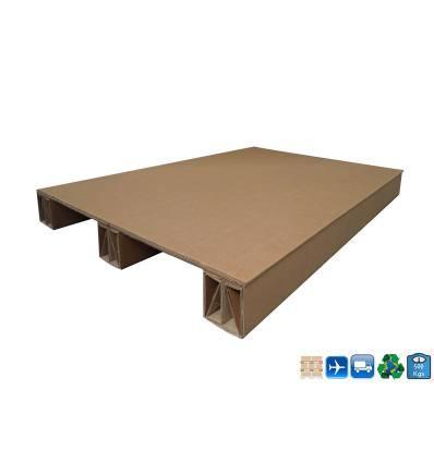 Palet de cartón 1200x800 Carga de 500kg