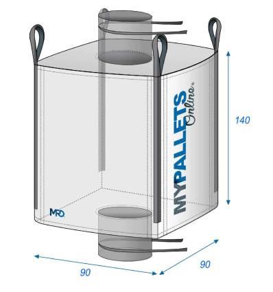 Bulk Bag Agriculture - Manure & Silt 90X90X140 1500 kg