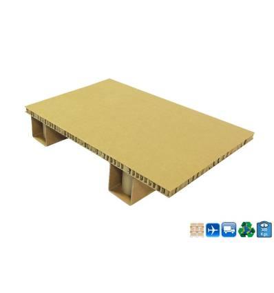 Palet de cartón 600x400 Carga de 300kg