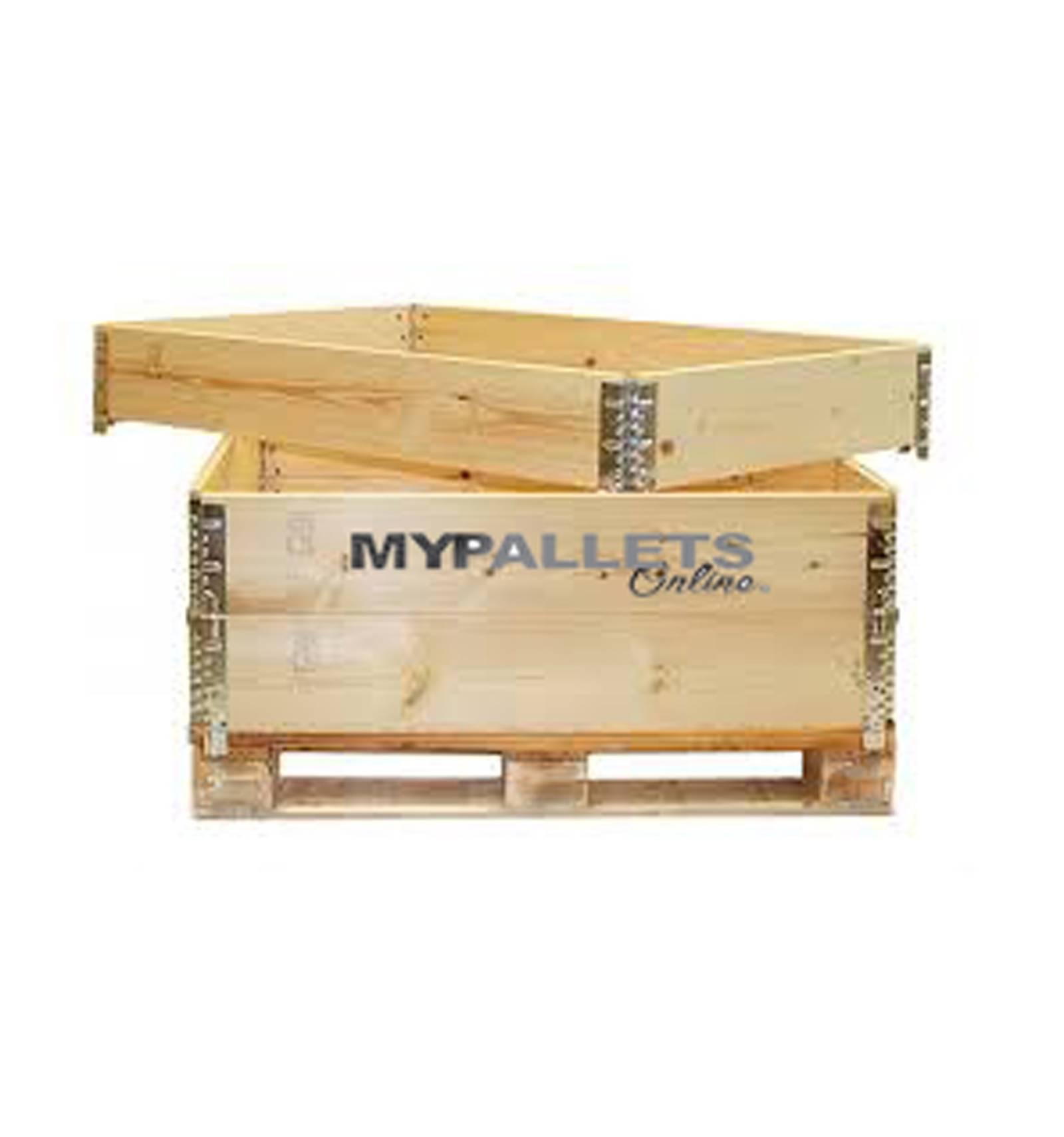 mypalletsonline rehausse bois pliante neuve pour palette 80x120. Black Bedroom Furniture Sets. Home Design Ideas