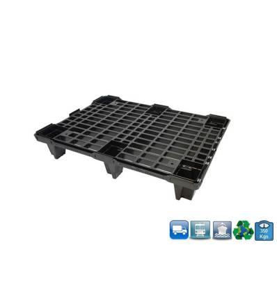 Plastic Pallet 600 X 800 X 130 - Open Tray