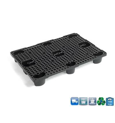 Palette Plastique 800X1200 Plot Ronds amortisseur