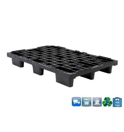 Plastic Pallet 800 X 1200 X 155 - Open Tray