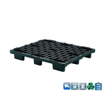 Kunststoff Paletten 1200x1000 Leicht oberdeck Durchbrochen