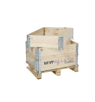 holzaufsatzrahmen für Paletten 600X800 bester Preis