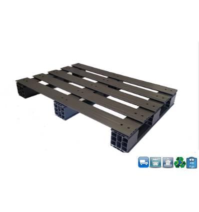 Palette PVC 1000 X 1200 X 150 - supporte 400KG