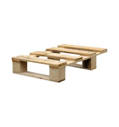 1/4 pallet di legno 600x400 Carico 150kg Molto Leggero