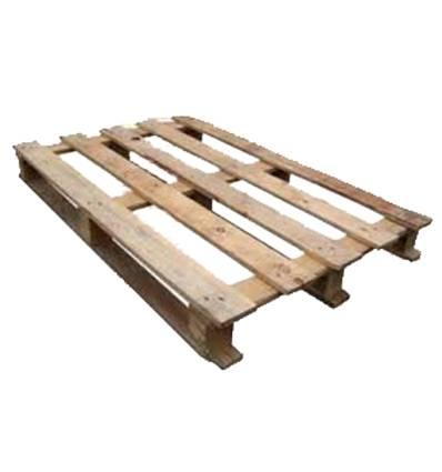 Palette perdue en bois 80X120 d'occasion Plancher débordant