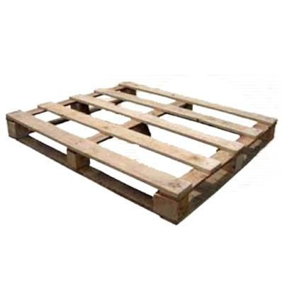 Palet de madera 1200x1000 Carga 430kg 5 suelas Ligero