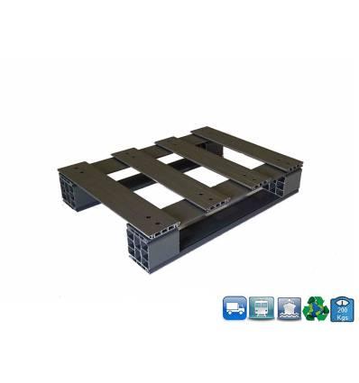 Palette PVC 600 X 800 X 150 - supporte 200KG