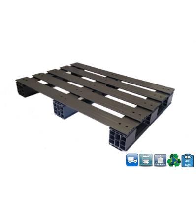 Palette PVC 800 X 1200 X 150 - supporte 400KG
