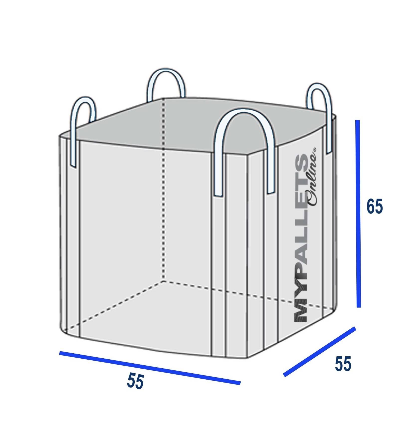 big bag 55 x 55 x 65 0 5 ton 0 25 m3. Black Bedroom Furniture Sets. Home Design Ideas