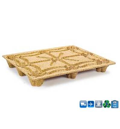 Palet de madera comprimada 1200x1000 Resistancia 900kg