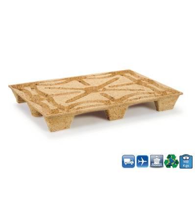 Pallet in legno Pressato 1140x760 Conteniero