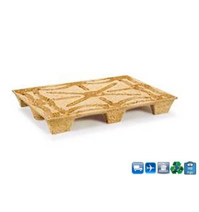 Palet de madera moldeada 1140x1140 Resistencia 900kg